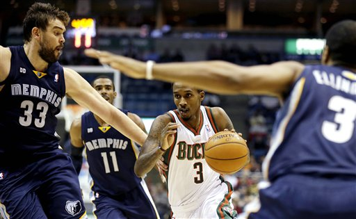 Brandon Jennings, Marc Gasol