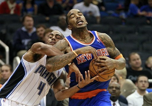 Arron Afflalo, J.R. Smith