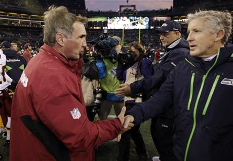 Pete Carroll Mike Shanahan