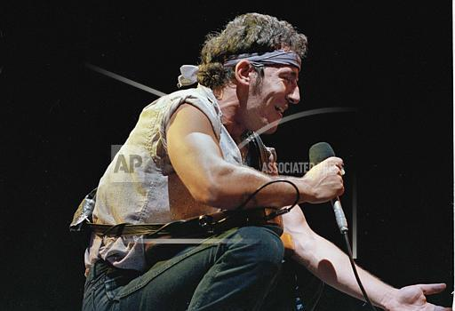 Watchf Associated Press Domestic News Entertainment New Jersey United States APHS SPRINGSTEEN 1984