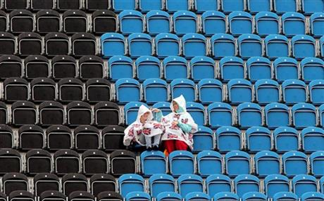 London Olympics Empty Seats Weather