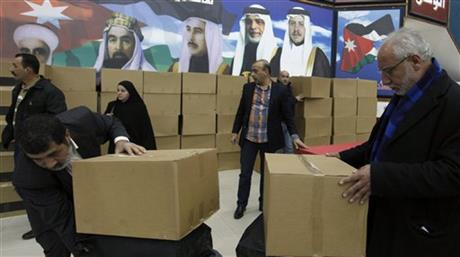 Mideast Jordan Election
