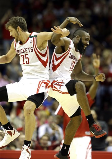 Chandler Parsons, James Harden