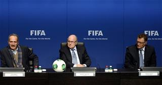 Aldo Rebelo, Joseph Blatter, Jerome Valcke