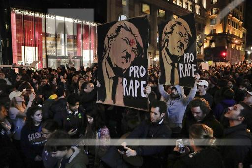 Election Protests New York