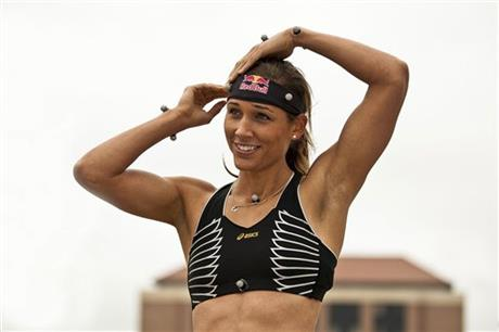 Lolo Jones Photo Shoot