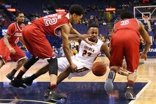 MVC Bradley Loyola Chicago Basketball