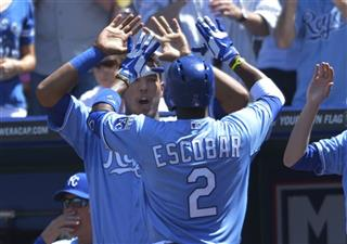 Salvador Perez, Alcides Escobar