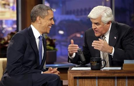 Barack Obama, Jay Leno