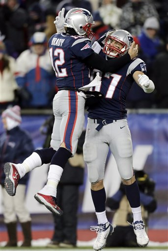 Tom Brady, Rob Gronkowski