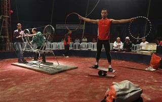 Mideast Gaza Circus