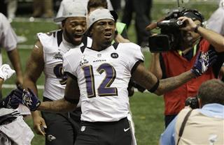 Jacoby Jones, Bryan Hall