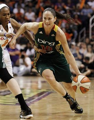 Sue Bird, Temeka Johnson