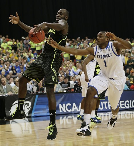 CORRECTION NCAA Kentucky Baylor Basketball