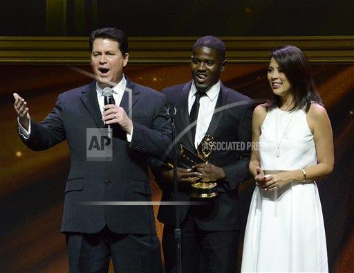 inVision Phil Mccarten/Invision/AP a ENT CPAENT CA USA INVL 67th Los Angeles Area Emmy Awards - Show