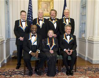 John Paul Jones, Buddy Guy, Jimmy Page, Natalia Makarova, Robert Plant, Dustin Hoffman, David Letterman.