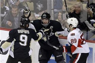 Sidney Crosby, Pascal Dupuis, Cory Conacher