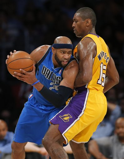 Metta World Peace, Vince Carter