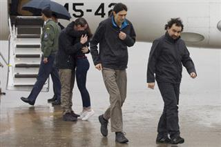 Spain Syria Journalists Freed