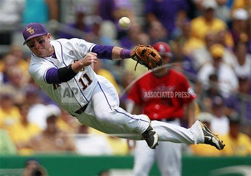 APTOPIX NCAA Stony Brook LSU Baseball