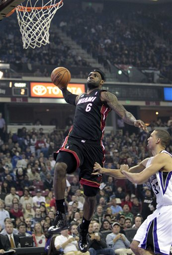 LeBron James, Francisco Garcia