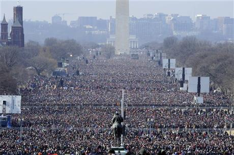 Inauguration Turnout
