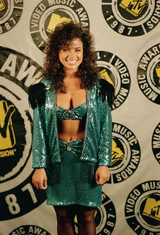 MTV Awards Paula Abdul 1987