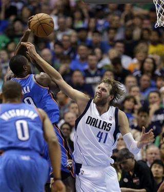 Dirk Nowitzki,  Serge Ibaka