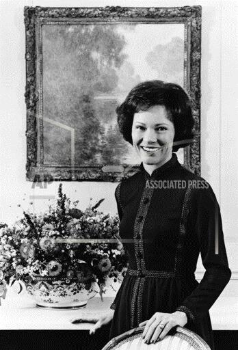 Watchf Associated Press Domestic News  Dist. of Col United States APHS185911 Rosalynn Carter Official Portrait 1977