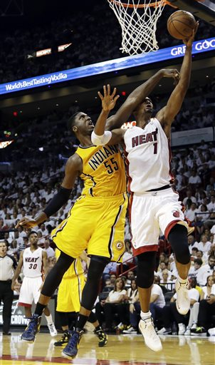 Roy Hibbert, Chris Bosh