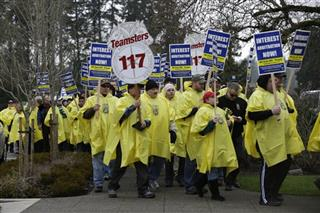 Corrections Workers Protest