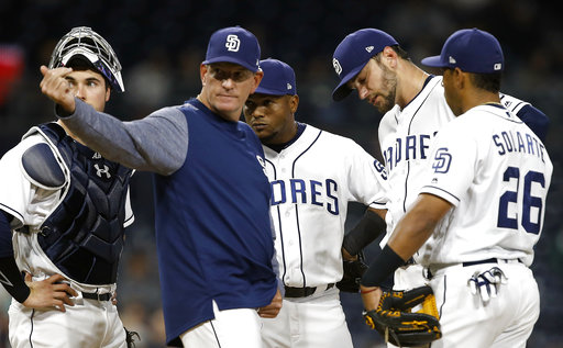 Padres put Cosart to DL with hamstring strain