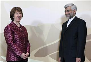 Saeed Jalili, Catherine Ashton
