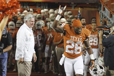 D.J. Monroe, Mack Brown