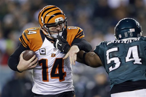 Andy Dalton, Brandon Graham