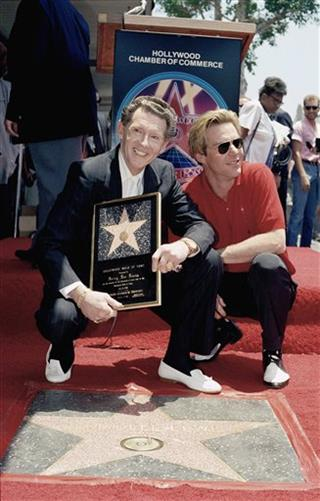 Jerry Lee Lewis and Dennis Quaid 1989