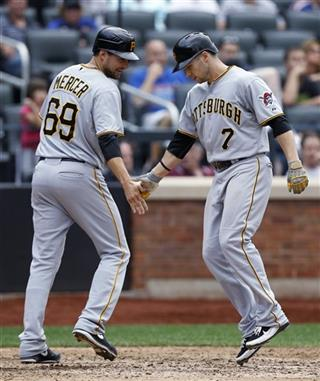 Jordy Mercer, Alex Presley