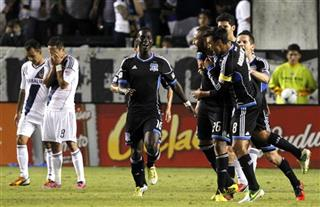 Chris Wondolowski, Simon Dawkins,Victor Bernardez, Marcelo Sarvas, Juninho