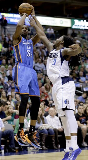 Kevin Durant, Jae Crowder