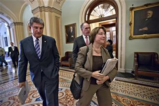 Joe Manchin, Amy Klobuchar, Robert Casey