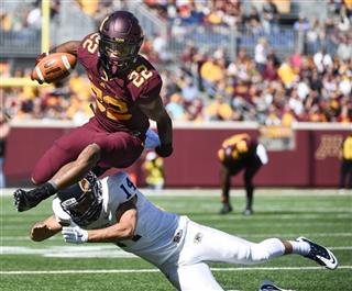 APTOPIX Kent St Minnesota Football