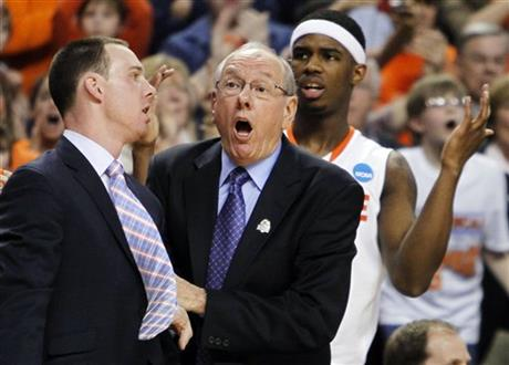 Jim Boeheim, Gerry McNamara, C.J. Fair