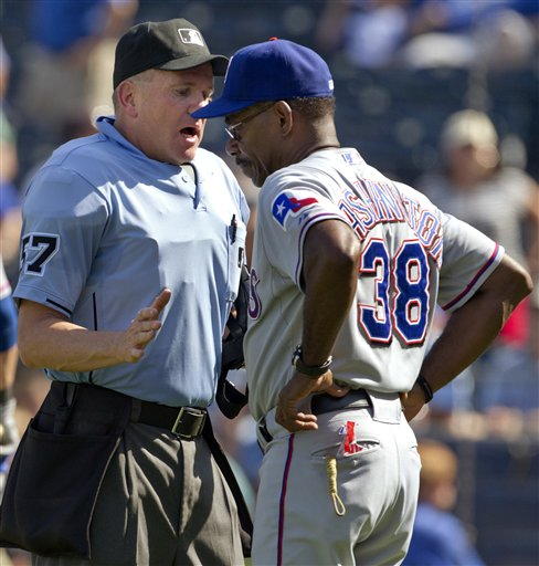 Ron Washington, Mike Everitt