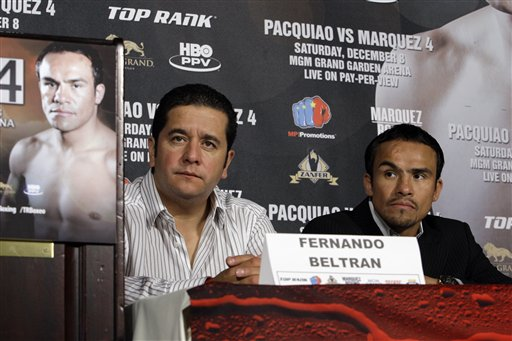 Juan Manuel Marquez, Fernando Beltran