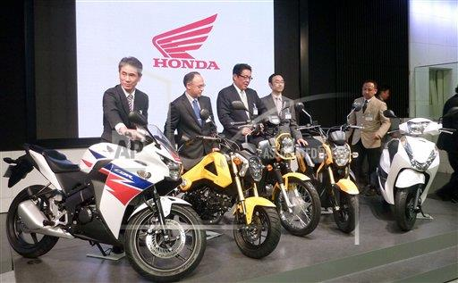 Honda To Sell 5 Overseas Made Motorcycle Models In Japan