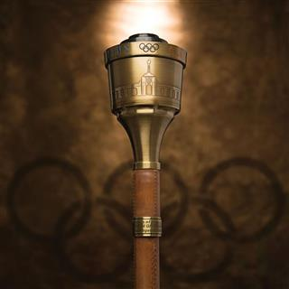 Jenner-1984 Olympic Torch-Auction
