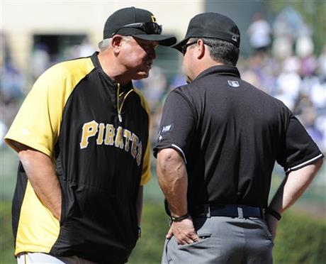 Clint Hurdle,Sam Holbrook