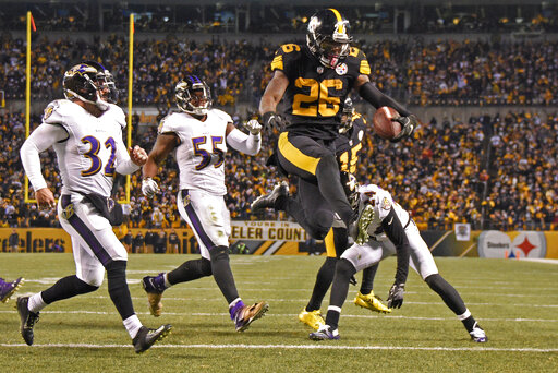 Le'Veon Bell, Terrell Suggs, Eric Weddle