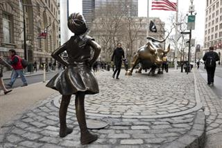 APTOPIX Fearless Girl Wall Street