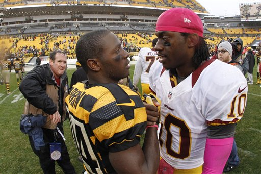 Robert Griffin III, Antonio Brown